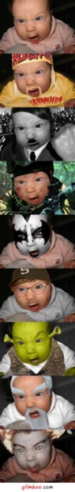 Cuidado ao colocar a Foto do seu filho na Internet- Alterada