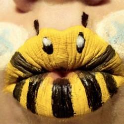 Boca de pintada de bichinhos